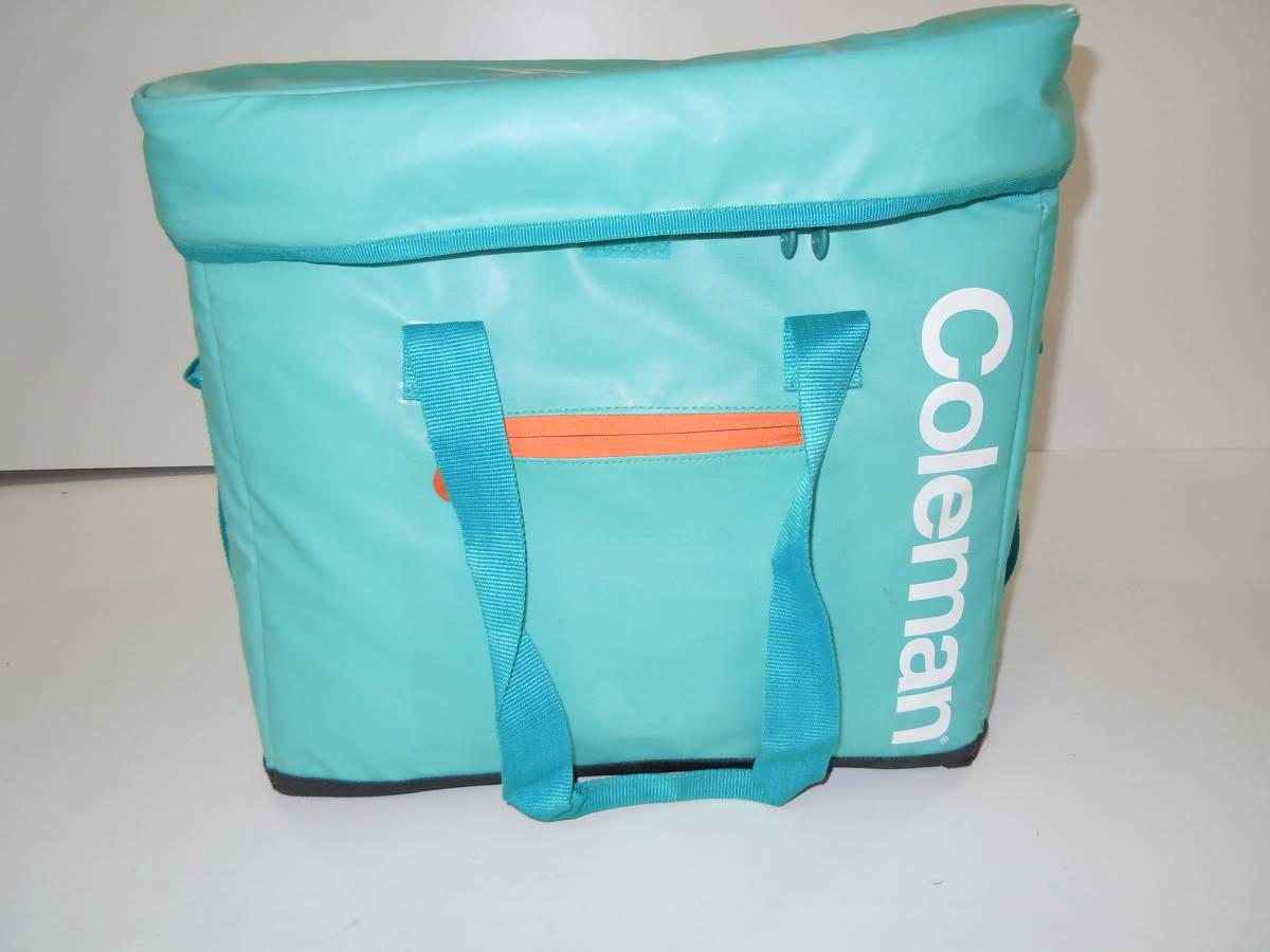 湘/$/Coleman/コールマン/ソフトクーラー 25L/1405-05575 保冷バッグ/肩掛け可能/持ち運び可能/アウトドア/レジャー/4.04-26R_画像3