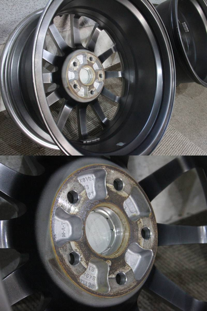 18インチ 8.5j +53 PCD114.3 希少 WRX STI tS 400台 限定車 スバル GRB GVB インプレッサ ENKEI ブレンボ GRF GVF S4 VAG VAB GDB GDA_画像10