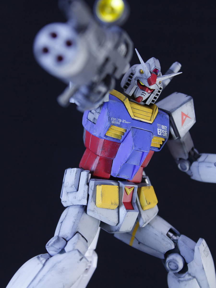 MG 1/100 RX-78-2 ガンダム ver2.0 [機動戦士ガンダム]_画像6