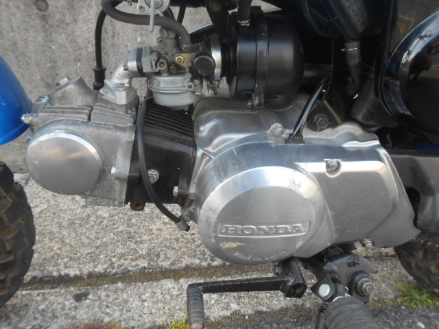 新品同様モンキー1992年 12Vモンキー AB27 室内保管 当時物純正パーツ使用 超美車 必見 エンジン始動好調 254km _画像6