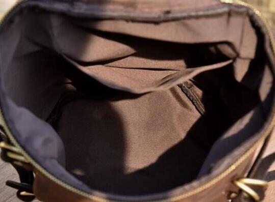 級牛革/復古風/本革レザーバックパック 職人手作り 手染め リュックサック 大容量 アウトドア?レジャーバッグ 旅行鞄 _画像4