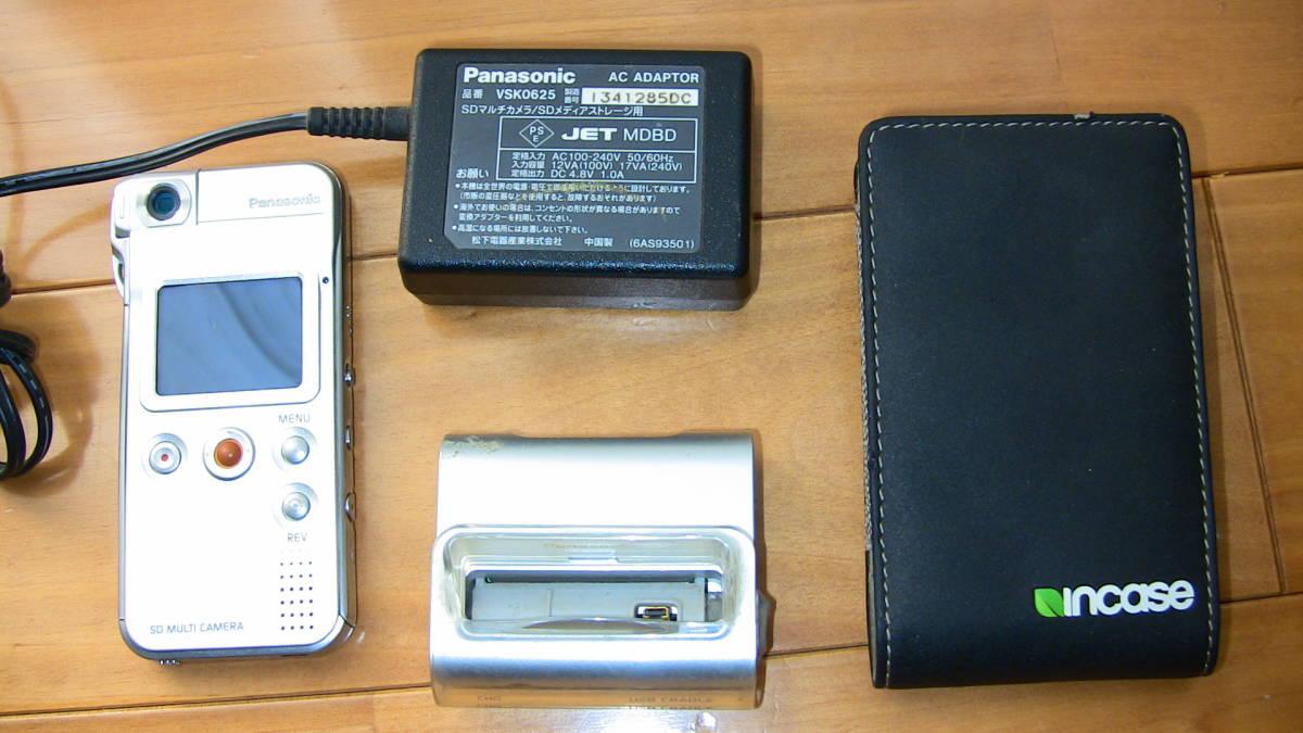 美品です★デジカメ★ panasonic SV-AS10★購入後あまり使用しなかったのでバッテリーは劣化してないと思います★