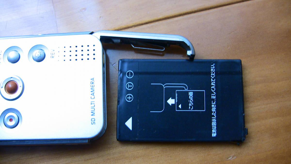美品です★デジカメ★ panasonic SV-AS10★購入後あまり使用しなかったのでバッテリーは劣化してないと思います★_画像6