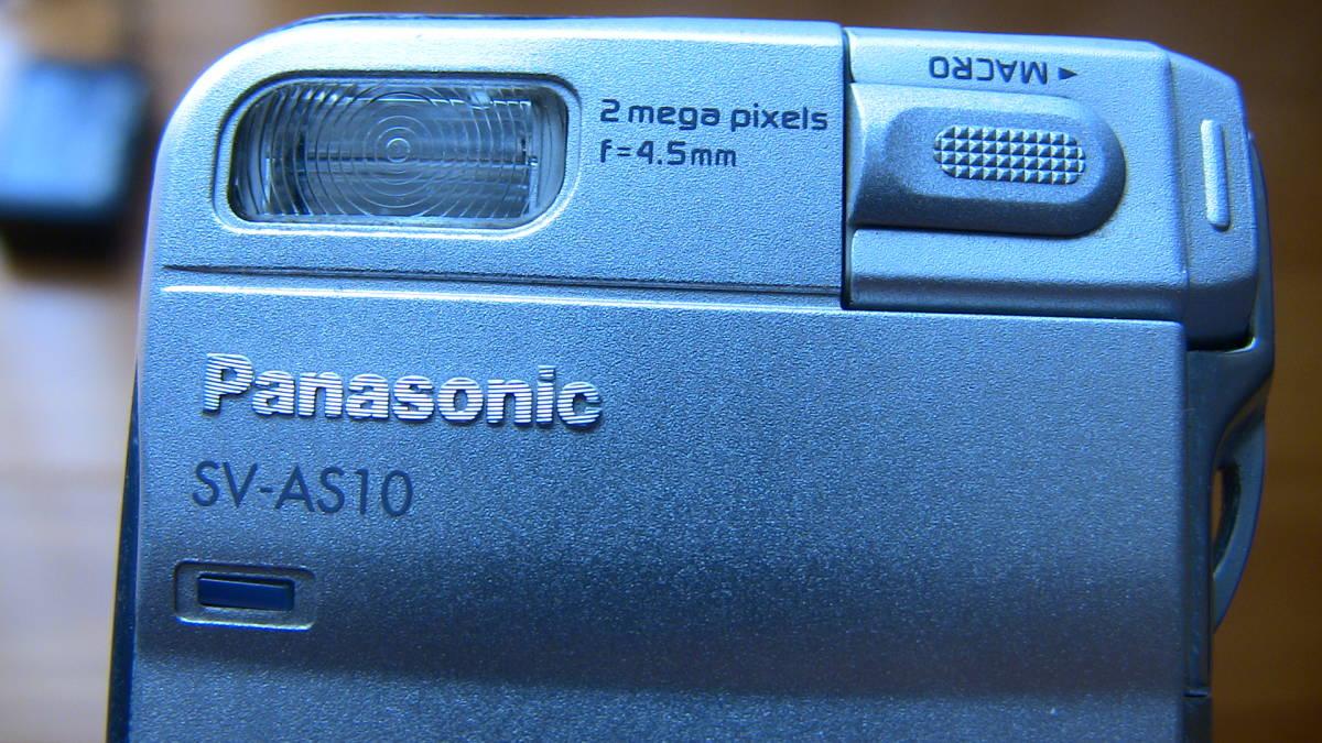 美品です★デジカメ★ panasonic SV-AS10★購入後あまり使用しなかったのでバッテリーは劣化してないと思います★_画像4