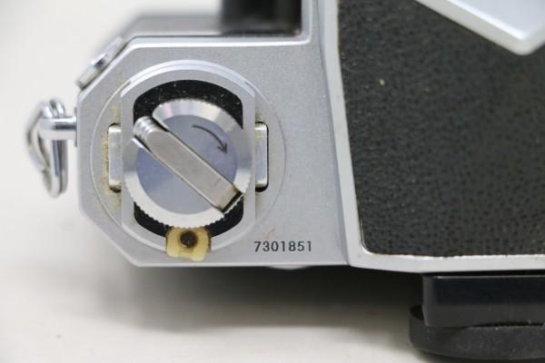 Nikon F ニコン ボディのみ 730万台 7301851(D2537)_画像4