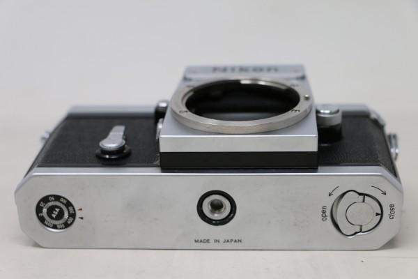 Nikon F ニコン ボディのみ 730万台 7301851(D2537)_画像9