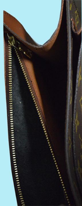 ルイヴィトン モンソー26 M51187 モノグラム セカンドバッグ ジャンク品 中古品 大阪発_画像7