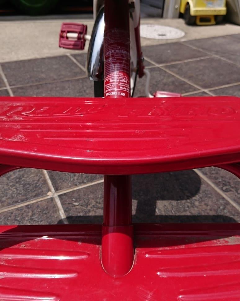 RADIO FLYER ラジオフライヤー三輪車Retro Red カフェ*ハーレー クラッシック ビンテージ 子供乗用玩具おもちゃ 当時物 フリンジ付き _画像3