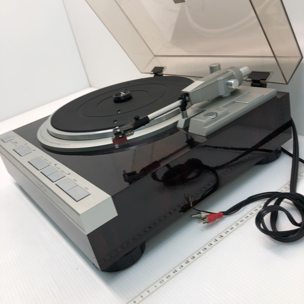 DENON デノン レコードプレーヤー DP-47F 通電のみ確認 ジャンク 1円スタート_画像7