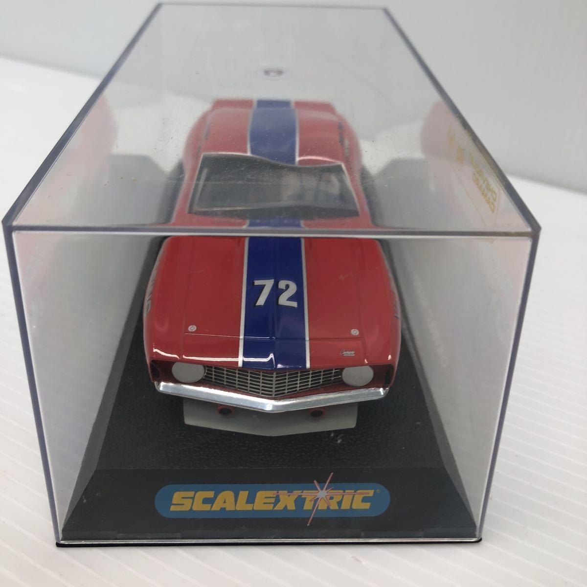 SCALEXTRIC スケーレックストリック Chevrolet CAMARO シボレー カマロ C2399 1969 NO6 スロットカー_画像5