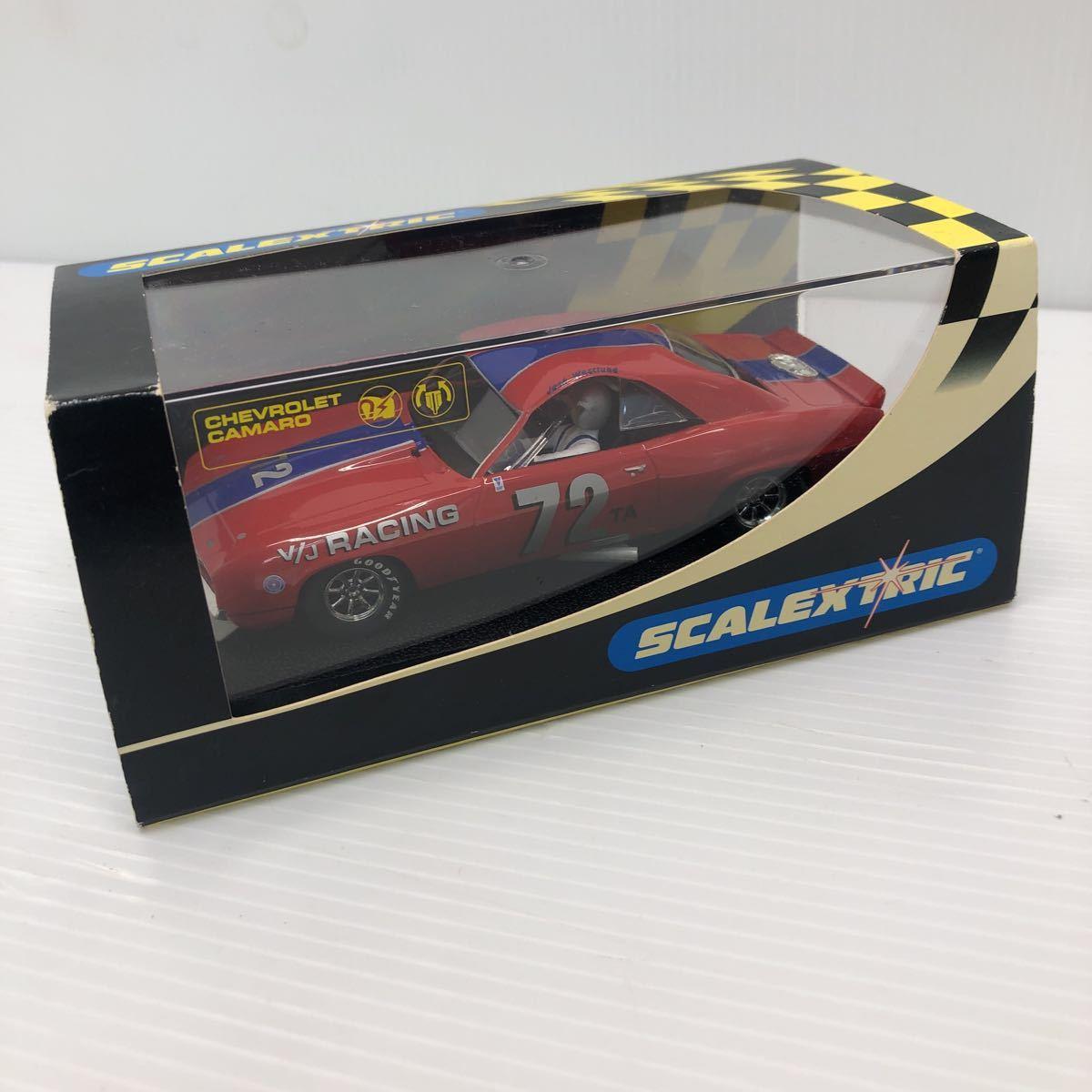 SCALEXTRIC スケーレックストリック Chevrolet CAMARO シボレー カマロ C2399 1969 NO6 スロットカー