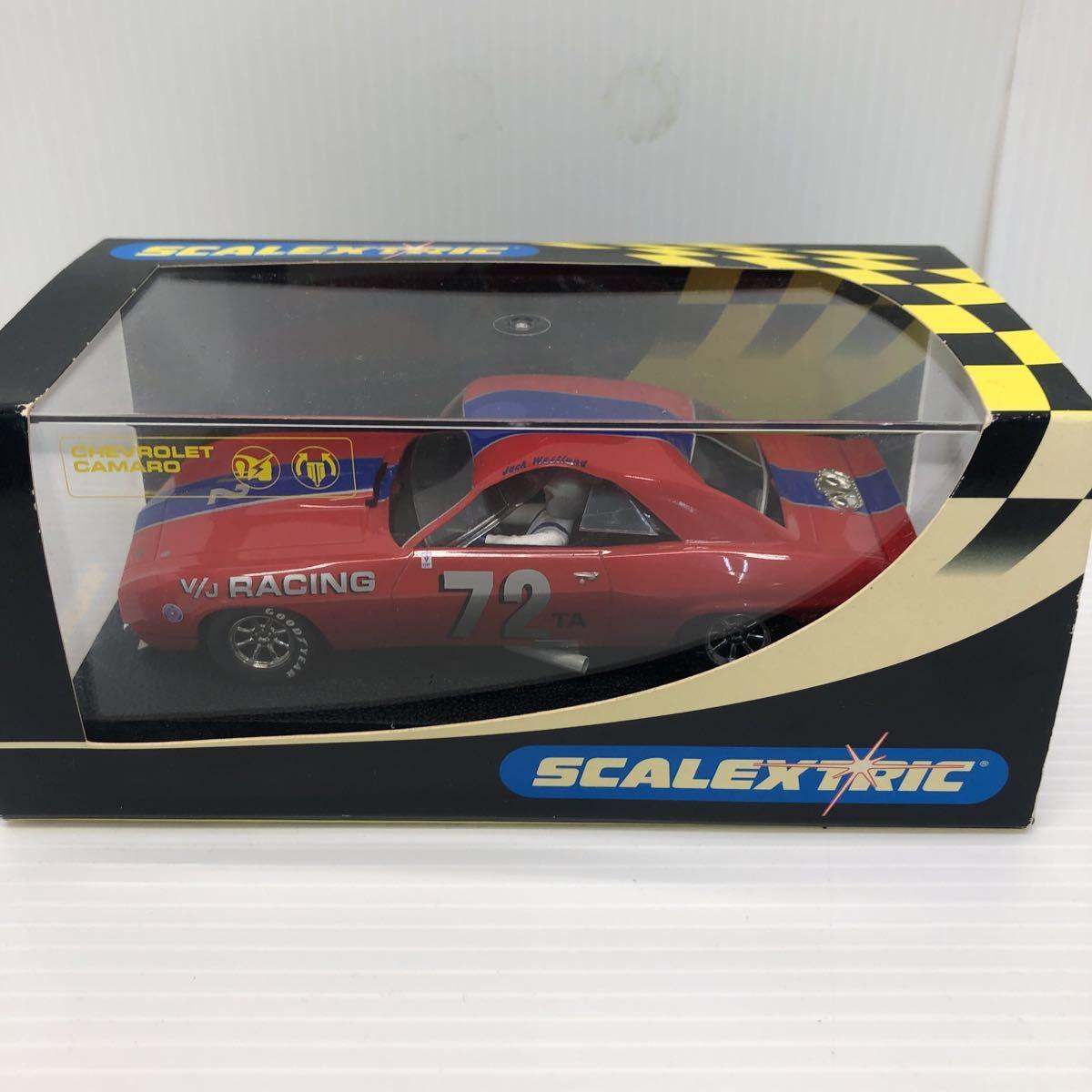 SCALEXTRIC スケーレックストリック Chevrolet CAMARO シボレー カマロ C2399 1969 NO6 スロットカー_画像2