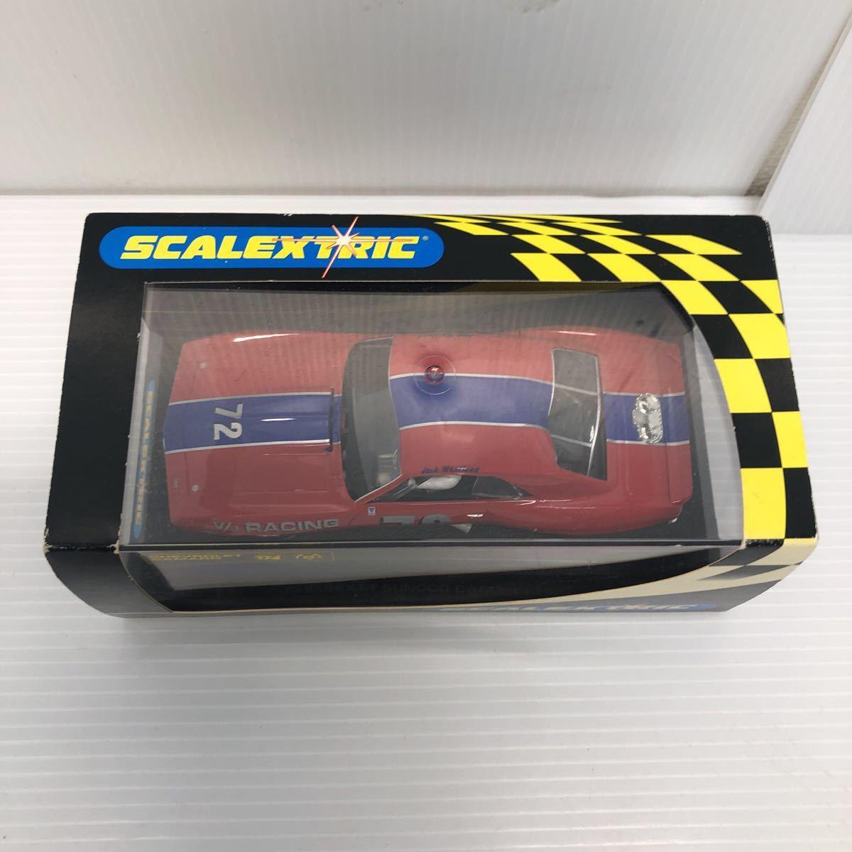 SCALEXTRIC スケーレックストリック Chevrolet CAMARO シボレー カマロ C2399 1969 NO6 スロットカー_画像3