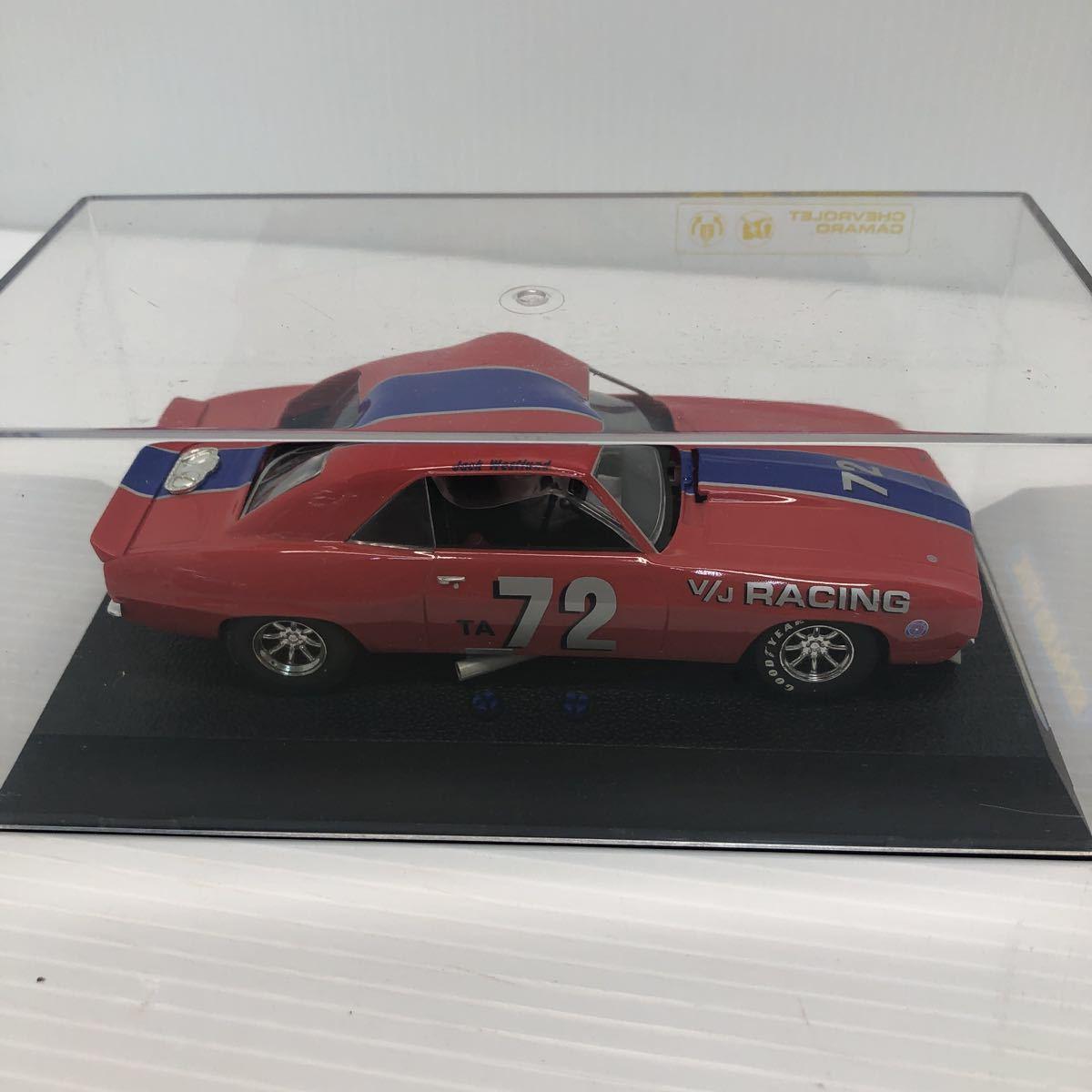 SCALEXTRIC スケーレックストリック Chevrolet CAMARO シボレー カマロ C2399 1969 NO6 スロットカー_画像4