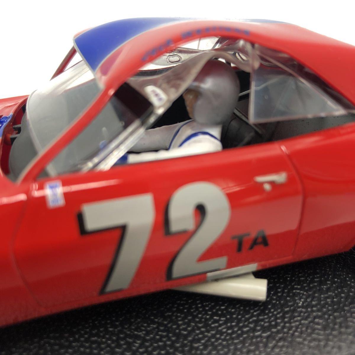 SCALEXTRIC スケーレックストリック Chevrolet CAMARO シボレー カマロ C2399 1969 NO6 スロットカー_画像9