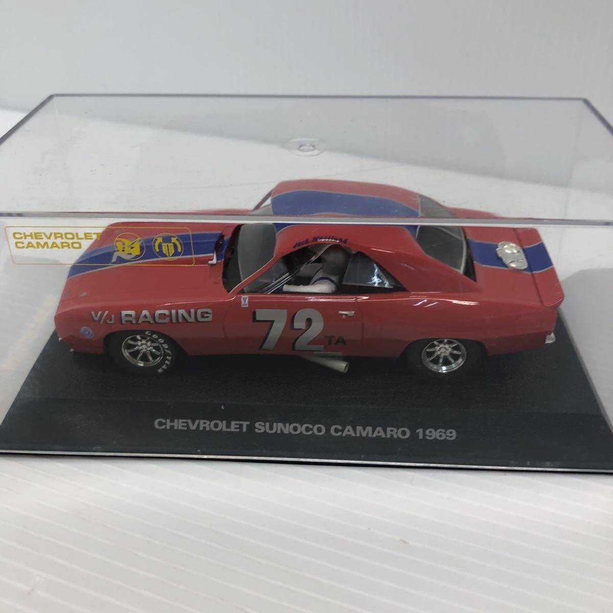 SCALEXTRIC スケーレックストリック Chevrolet CAMARO シボレー カマロ C2399 1969 NO6 スロットカー_画像6