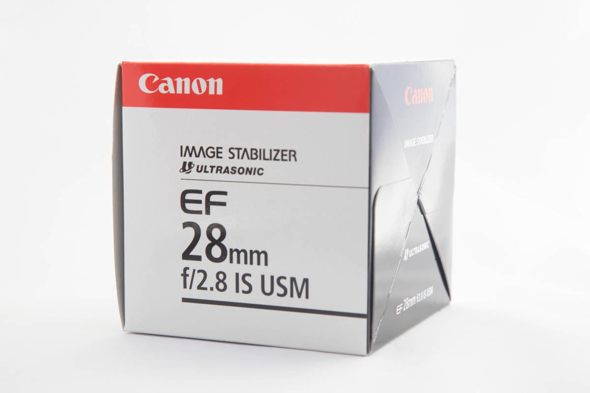 【新品未使用】Canon EF 28mm F2.8 IS USM キヤノン 【送料無料】