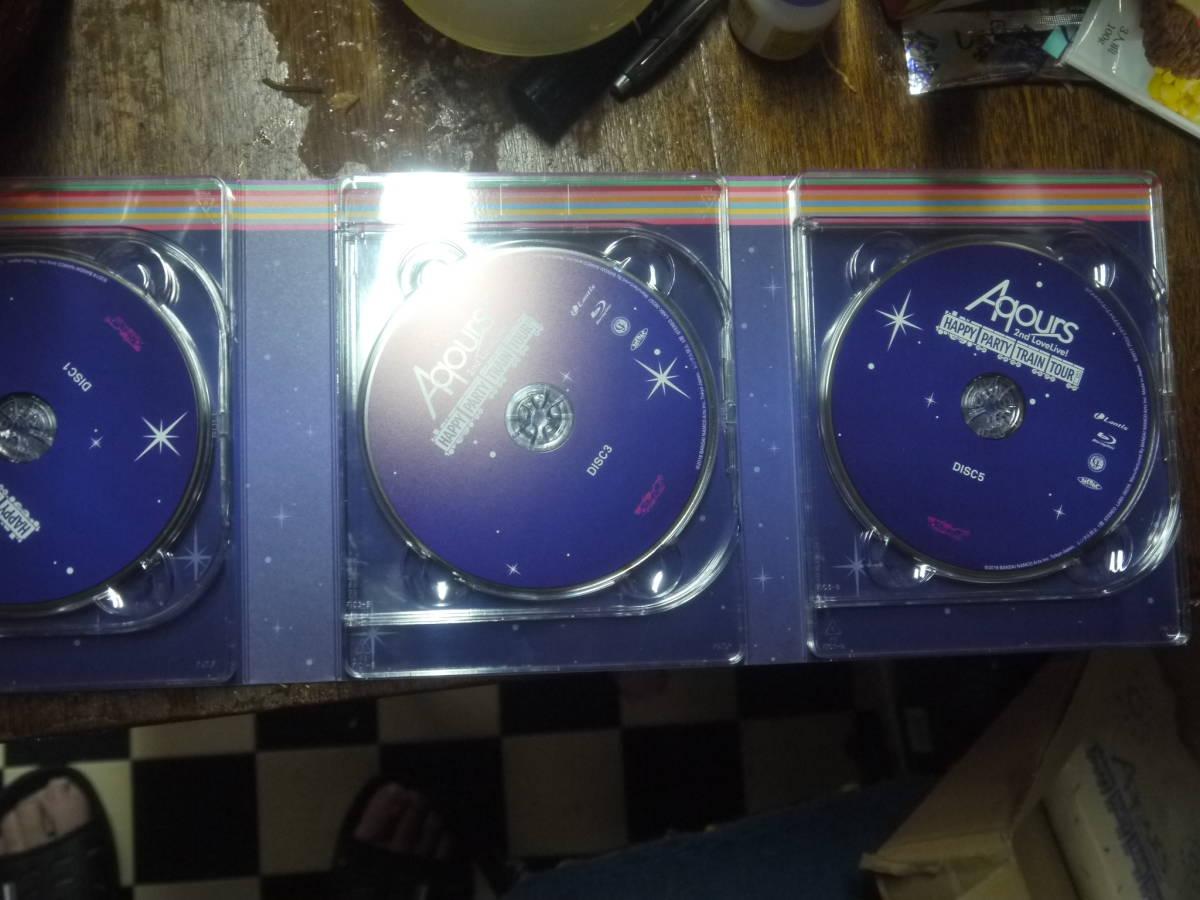 ラブライブ! サンシャイン!! Aqours 2nd LoveLive! HAPPY PARTY TRAIN TOUR Memorial BOX (A4トートバッグポスター付) [Blu-ray]_画像5