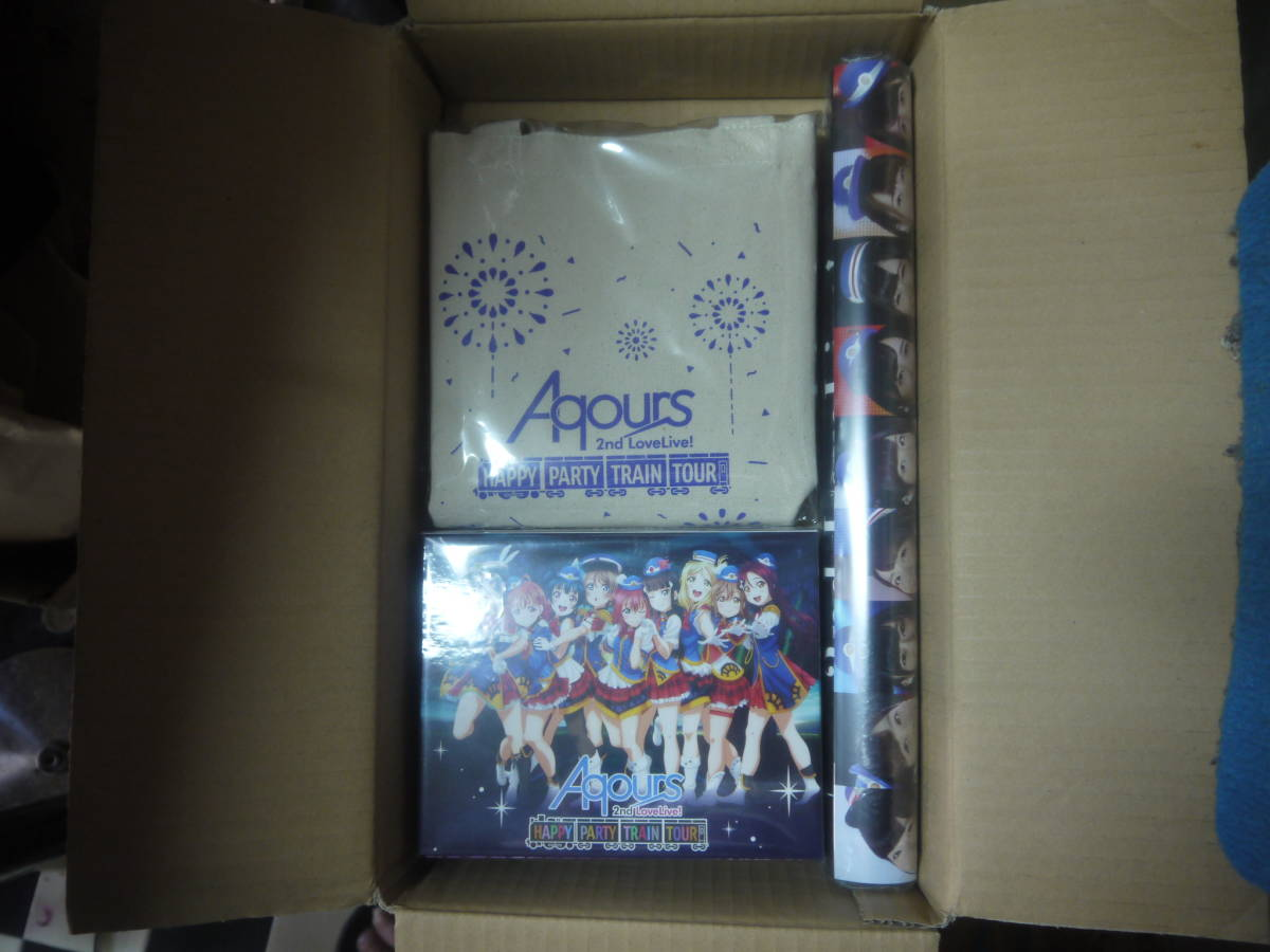 ラブライブ! サンシャイン!! Aqours 2nd LoveLive! HAPPY PARTY TRAIN TOUR Memorial BOX (A4トートバッグポスター付) [Blu-ray]_画像10