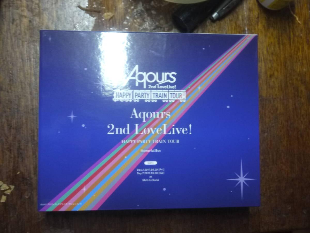 ラブライブ! サンシャイン!! Aqours 2nd LoveLive! HAPPY PARTY TRAIN TOUR Memorial BOX (A4トートバッグポスター付) [Blu-ray]_画像3