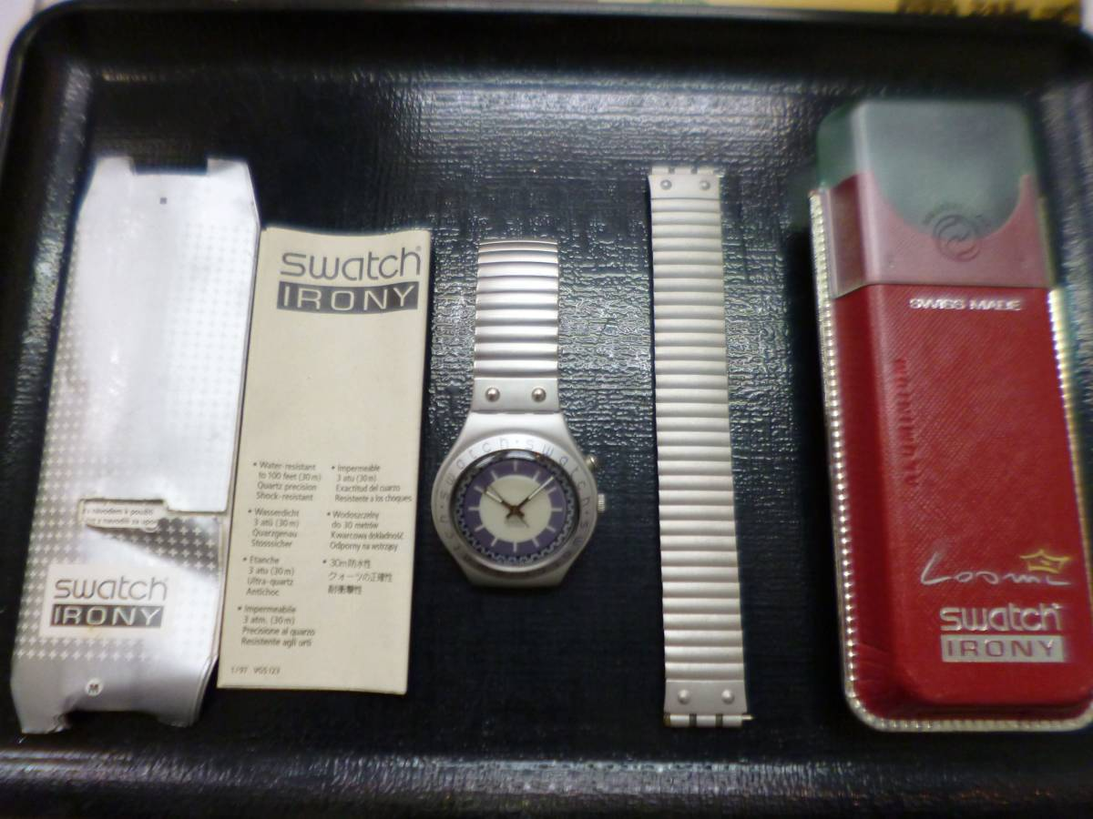 swatch スウォッチ IRONY 時計_画像5
