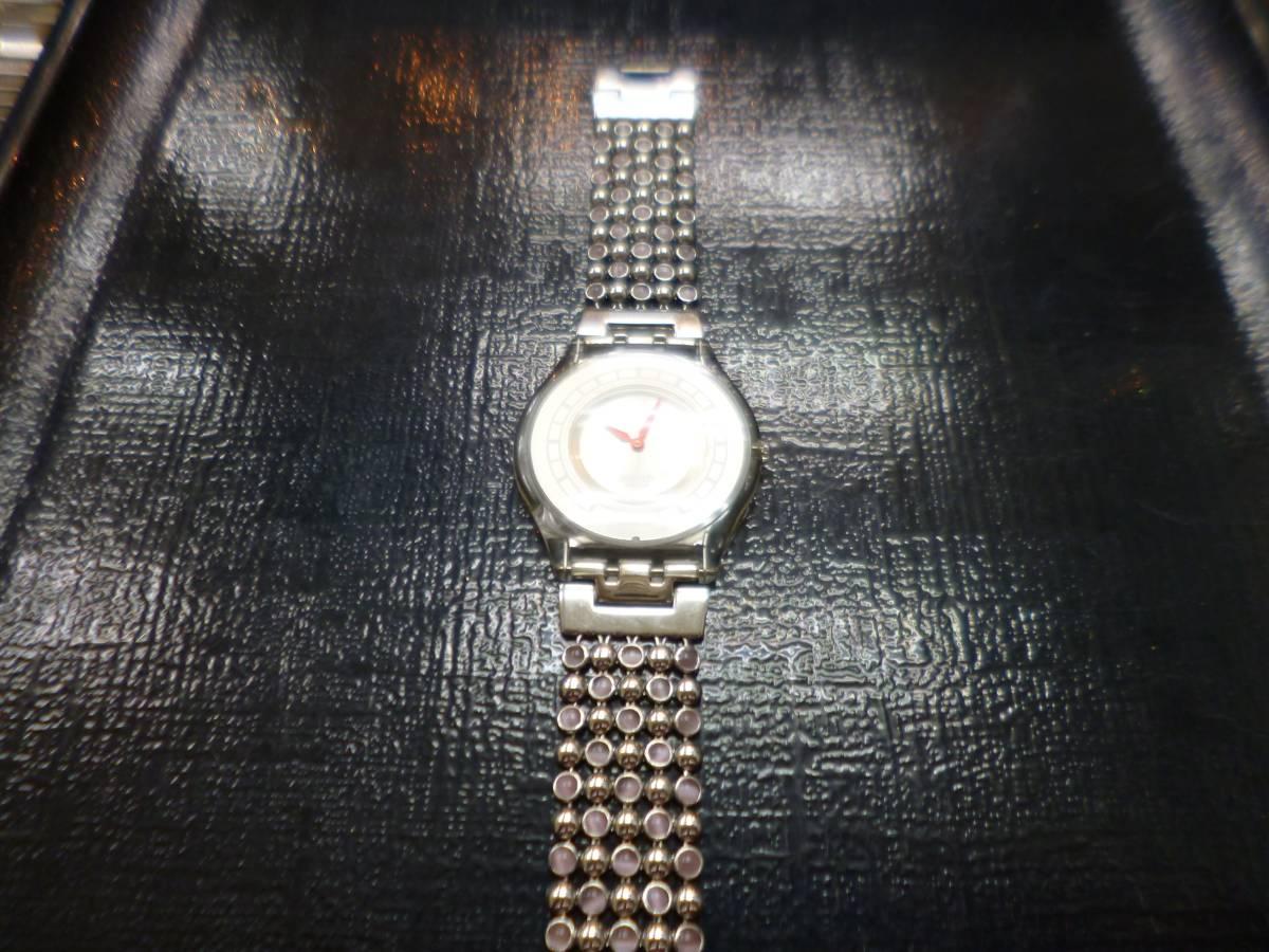 swtch スウォッチ 薄型 時計_画像2
