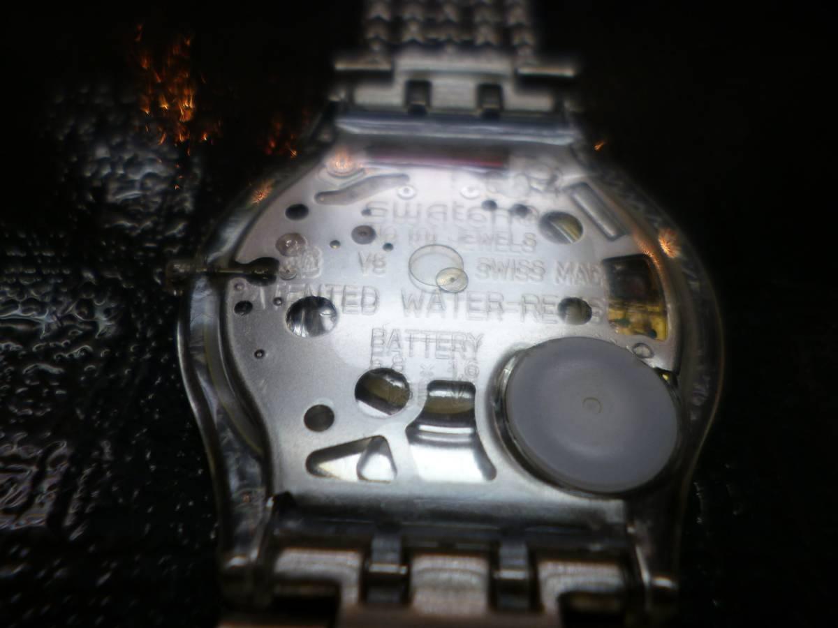 swtch スウォッチ 薄型 時計_画像4