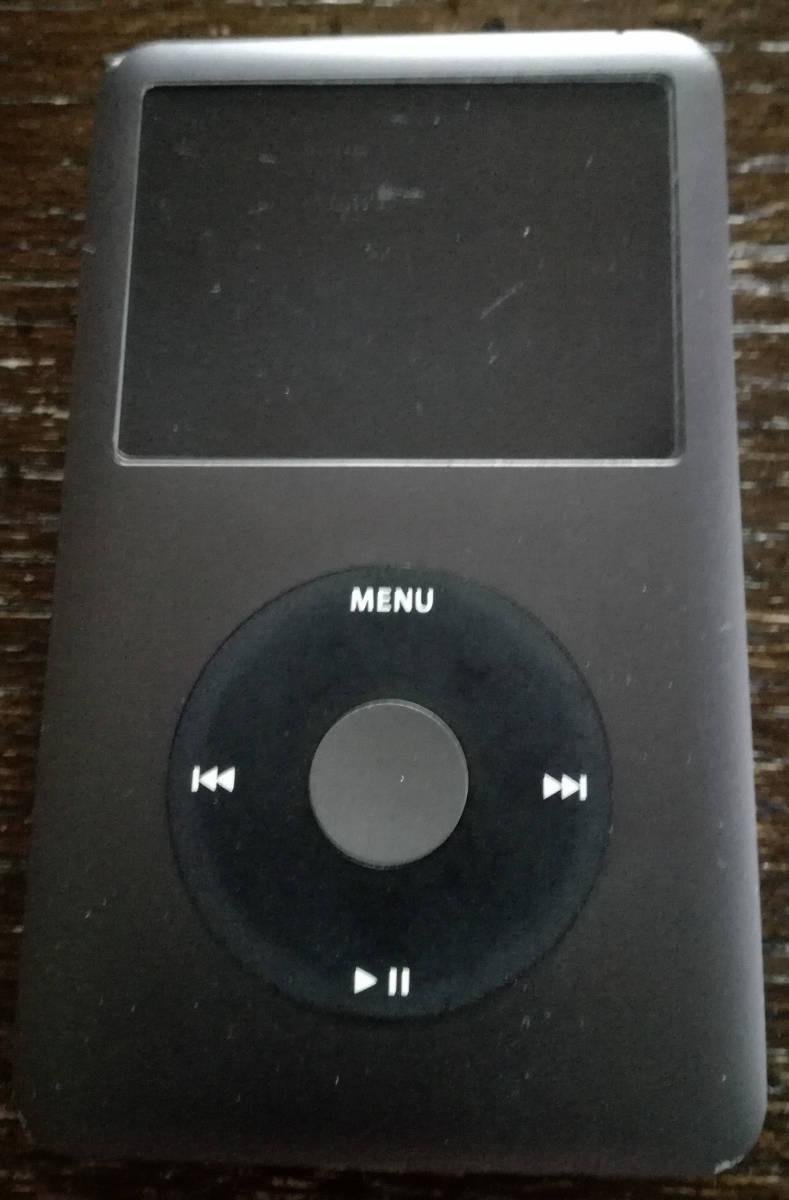 【バッテリー良好 40時間以上再生】Apple iPod classic 160GB MC297J(第7世代) ブラック 動作品 本体 + シリコンケース_画像2
