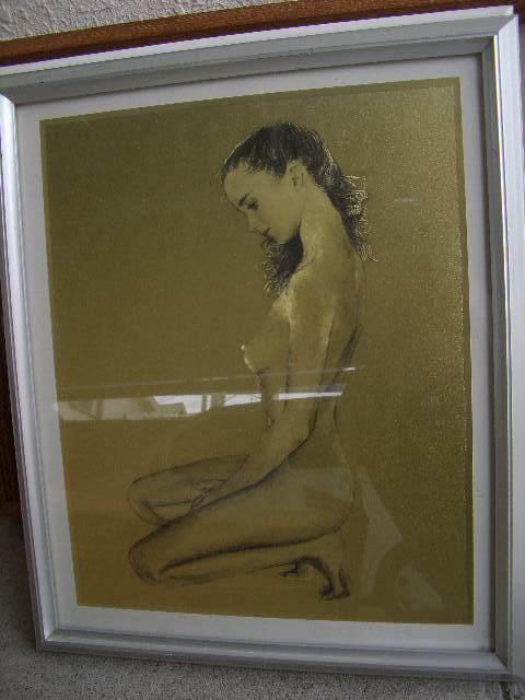 1円スタート アンティーク調 額 6枚 セット まとめ フレーム 写真立て 絵 絵画 インテリア 壁掛け スタンド式 木製 いろいろ 雑貨 /281_画像5