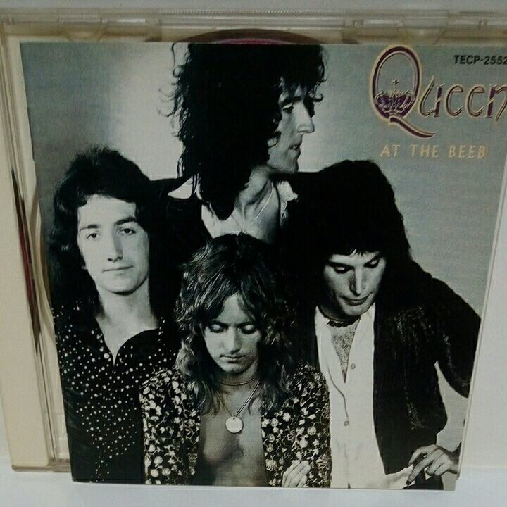 QUEEN「AT THE BEEB 女王凱旋! 戦慄のライブ・クイーン」 国内盤 クイーン