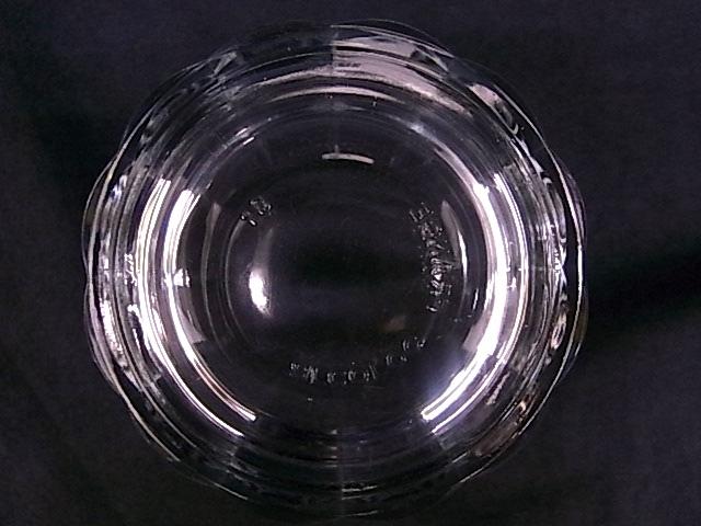 e1129 アルコロック arcoroc FRANCE タンブラーグラス コップ 3客 USED_画像5