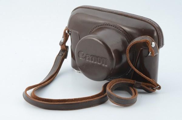 *値下げ交渉歓迎 美品* Canon キャノン レンジファインダ ケース  7,P(ポピュレール)用 35mm ビューファインダー用ケース付 13745_画像2