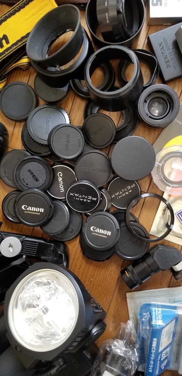 カメラ フード、キャップ、その他大量、ジャンク扱い_画像6