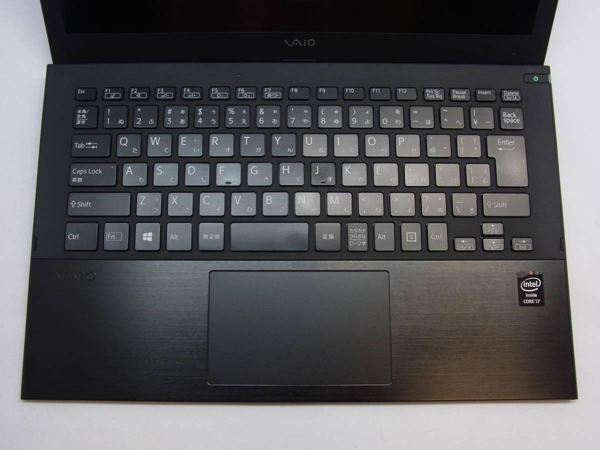 SONY VJP131B01N・第4世代 ・i7-4510U ・フルHD・新品SSD500GB・ メモリ8GB・ Windows10 ・Office 2019_画像5