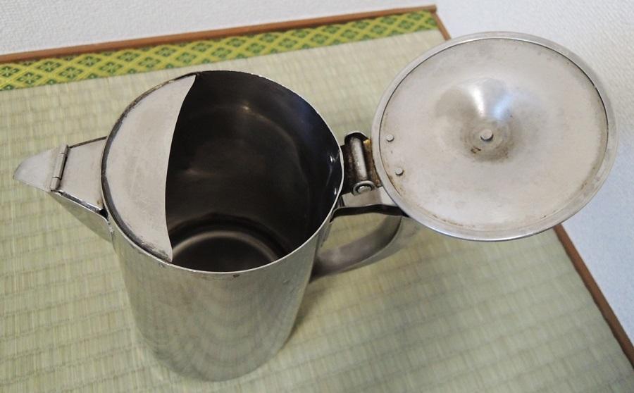 業務用 ステンレスコーヒーポット 泉 #16 3L 大容量 喫茶店 店舗用品 水差しオマケ_画像9