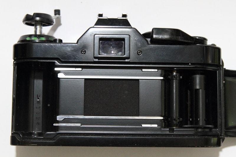 CANON AE-1 PROGRAM + FD 35-70mm 1:3.5-4.5 共にジャンク_画像5