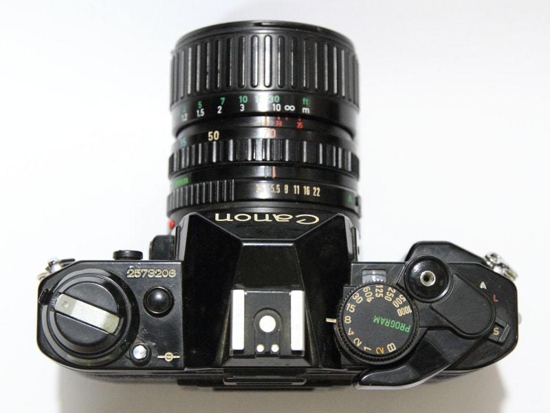 CANON AE-1 PROGRAM + FD 35-70mm 1:3.5-4.5 共にジャンク_画像3