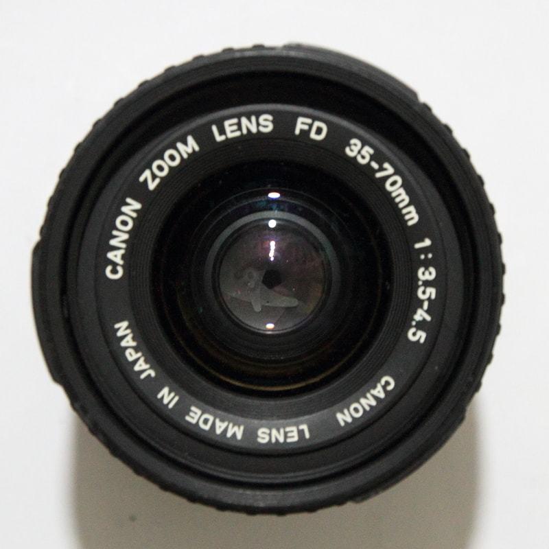 CANON AE-1 PROGRAM + FD 35-70mm 1:3.5-4.5 共にジャンク_画像4