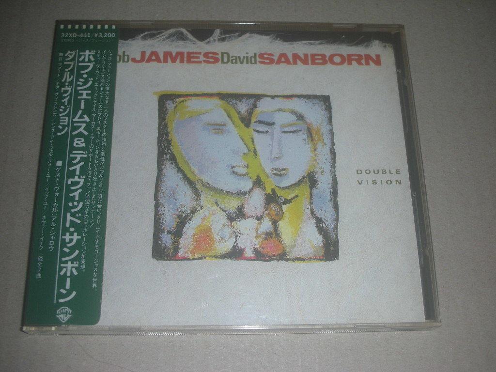 シール帯◆ボブ・ジェームス&デイヴィッド・サンボーン BOB JAMES & DAVID SANBORN ダブル・ヴィジョン 旧規格_画像1