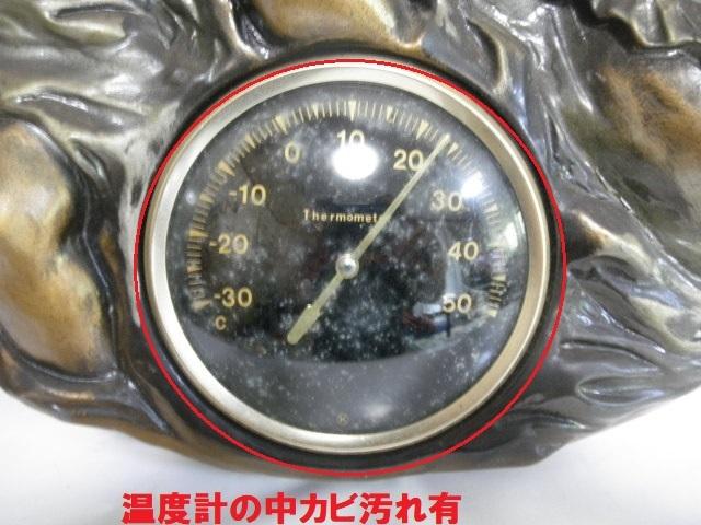 西洋 西洋アンティーク調 親子像 温度計付 インテリア 雑貨 飾り物_画像5