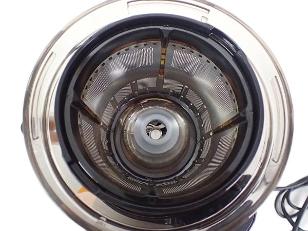 1642 極美品 Hurom ヒューロム スロージューサー HY-FR11 フェラーリレッド_画像5