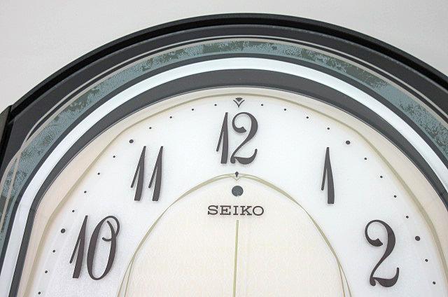 t99■【SEIKO セイコー】 電波からくり時計 RE560M 掛け時計_画像2