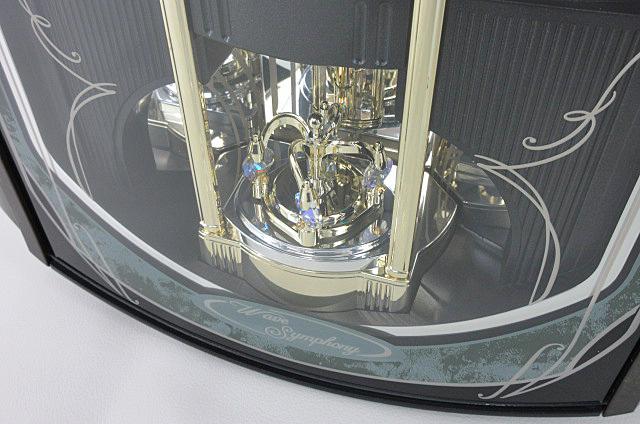t99■【SEIKO セイコー】 電波からくり時計 RE560M 掛け時計_画像6