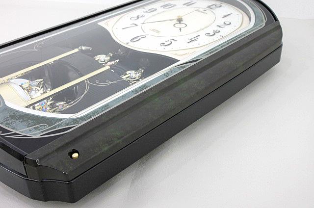 t99■【SEIKO セイコー】 電波からくり時計 RE560M 掛け時計_画像7