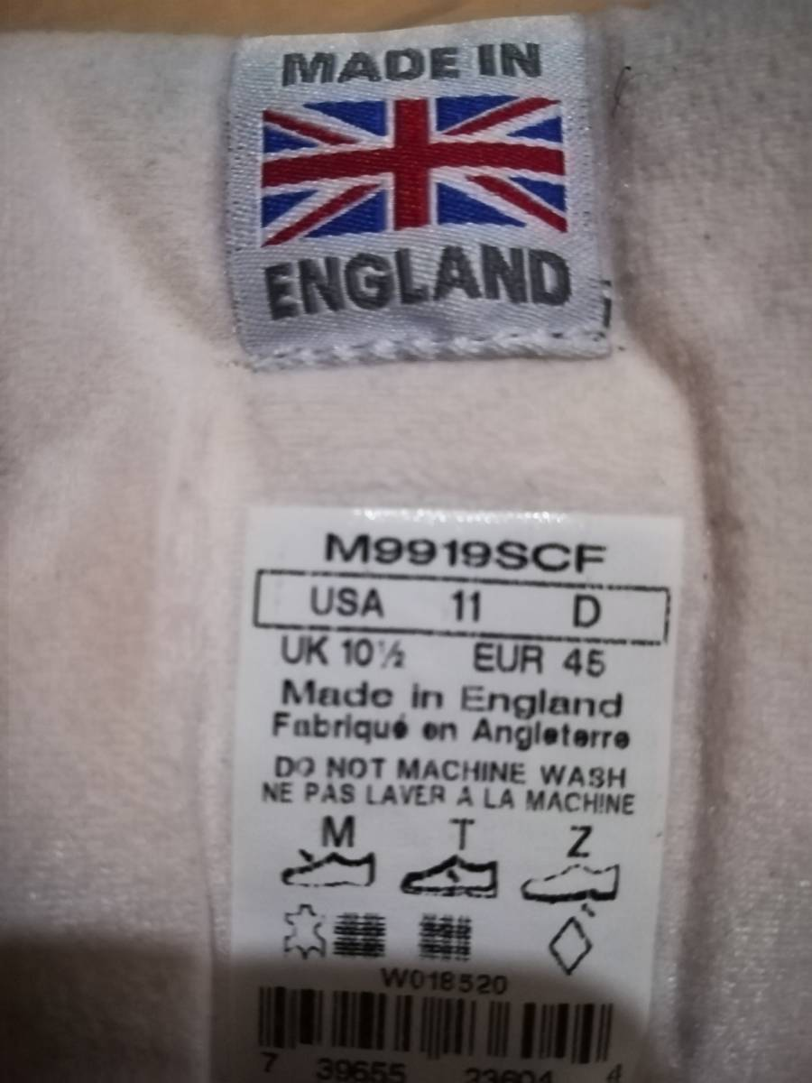 ニューバランス M9919SCf UK 激レア 29cm 991 991.9 1400 996 998 990_画像3