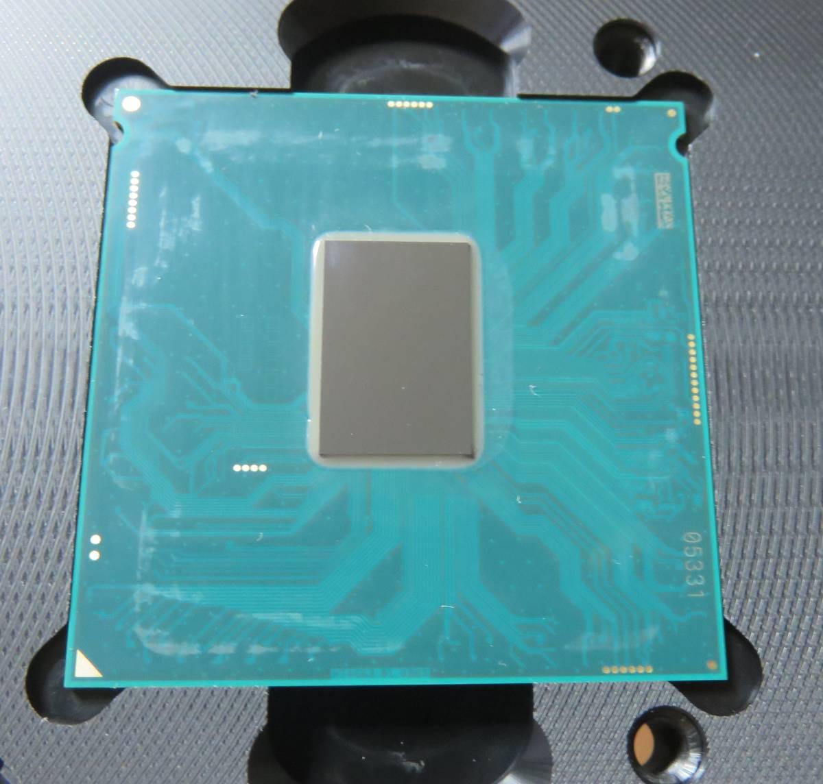 Intel Core i7 7700K BOX 殻割り クマメタル化_画像3