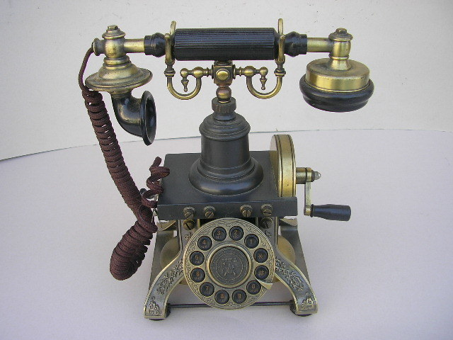 * antique style telephone machine PARAMOUNT No.1892