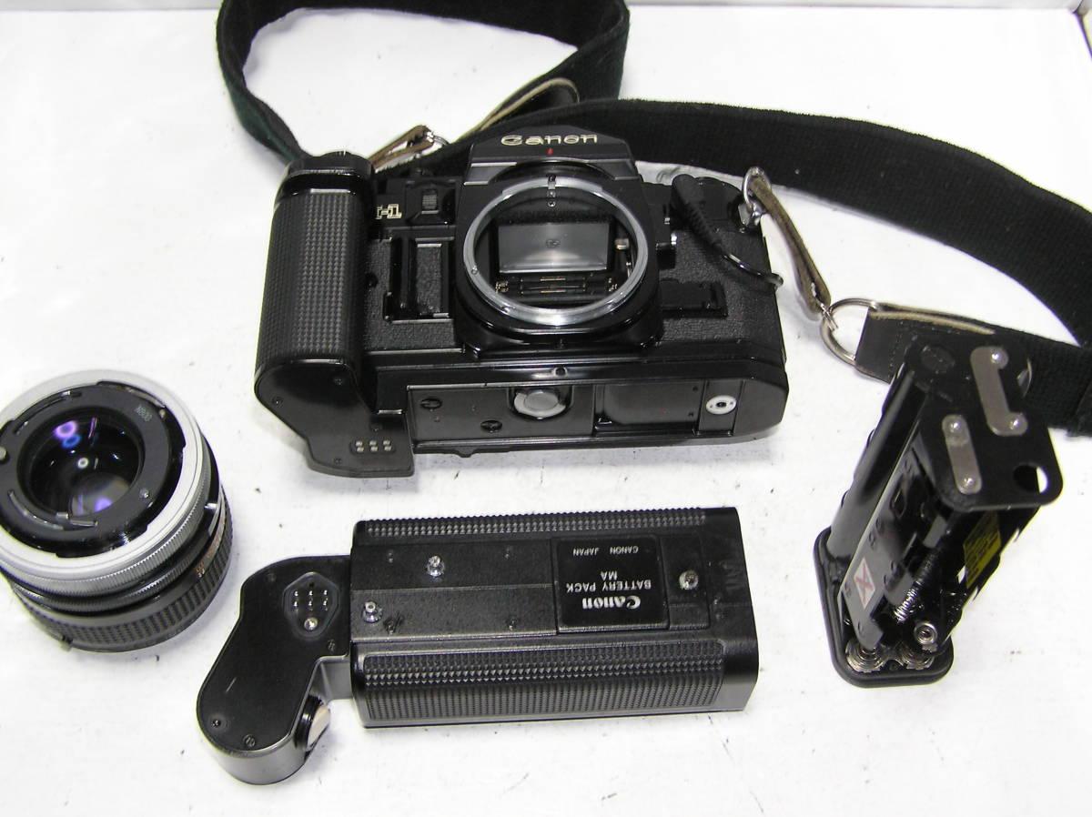 キャノン A-1 レンズCANON FD S,S,C 1:1.4 50mm モータードライブMA付 _画像6