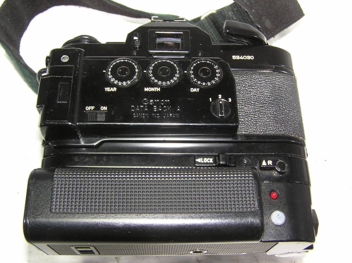 キャノン A-1 レンズCANON FD S,S,C 1:1.4 50mm モータードライブMA付 _画像8
