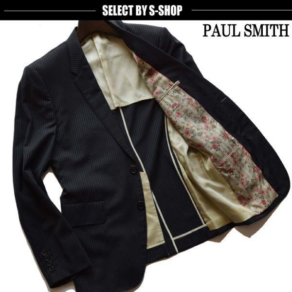 ■ポールスミス(Paul Smith)■美品 トロピカルギャバジンジャケット 黒/L